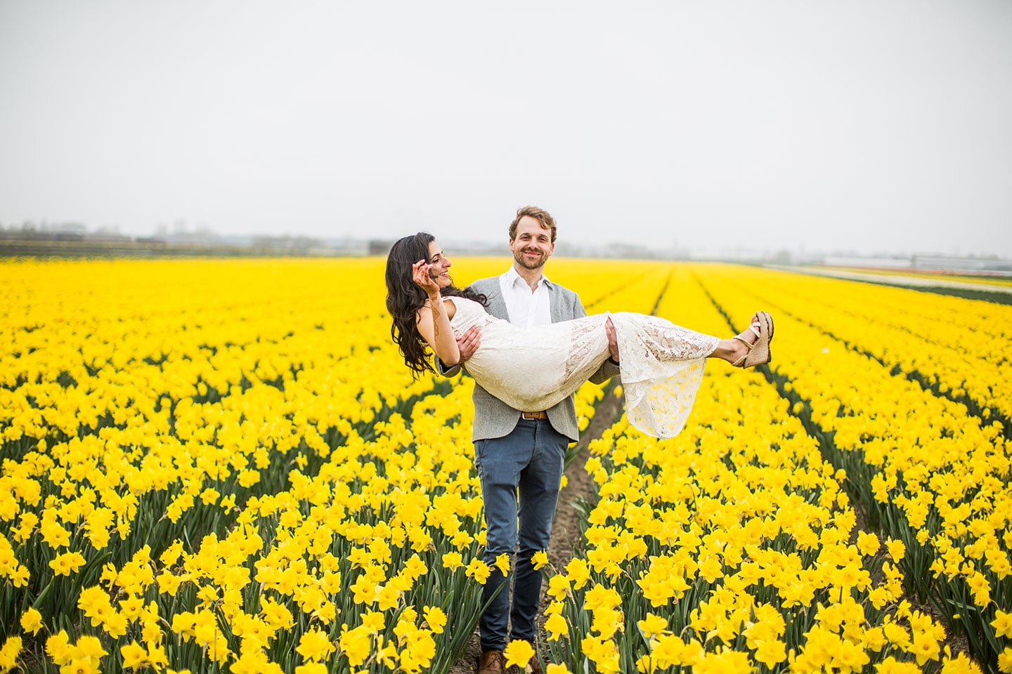 Prewedding Photoshoot Netherlands Flower gardens