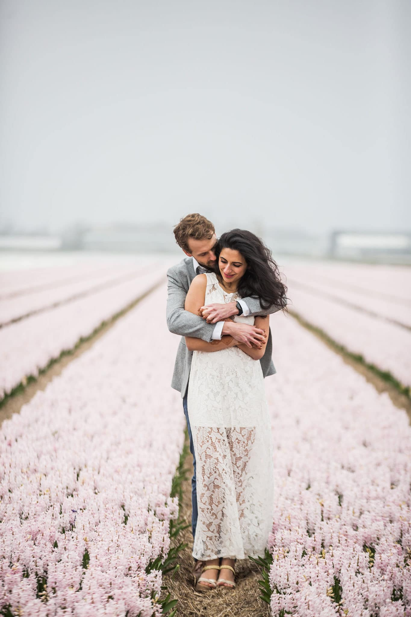 Keukenhof flower gardens prewedding photographer