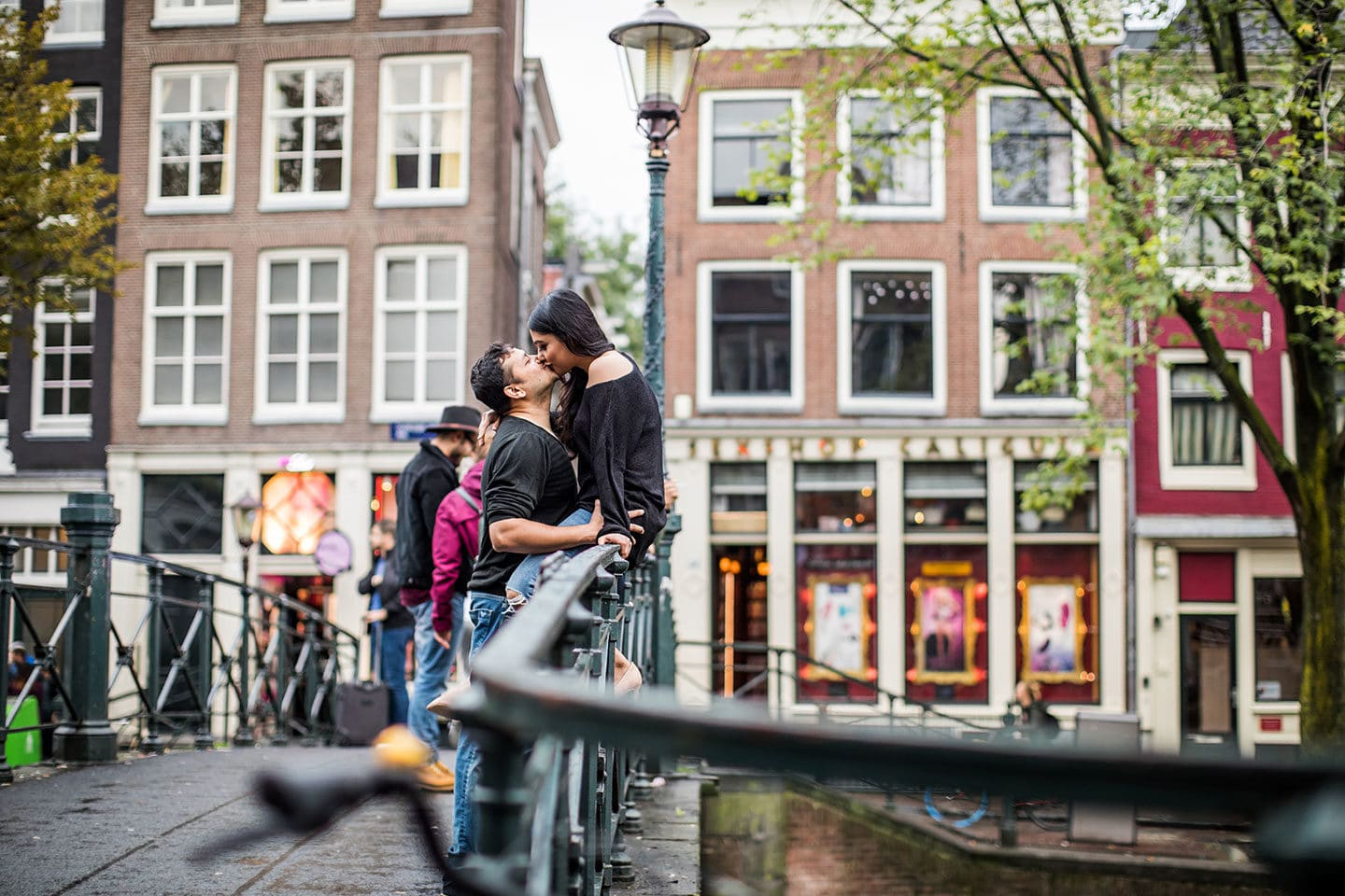 Amsterdam couple photoshoot
