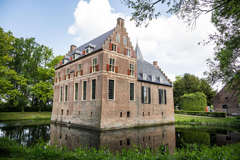 Kasteel Wijenburg in Echteld