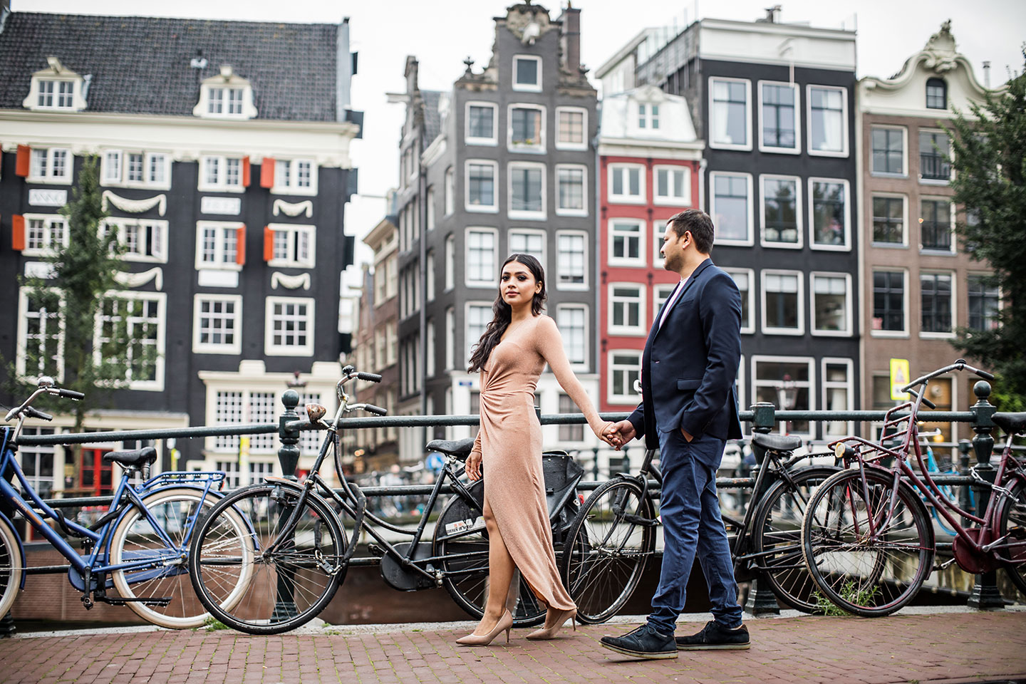 Amsterdam prewedding shoot
