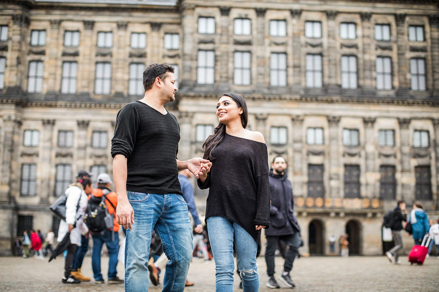 Amsterdam prewedding photoshoot