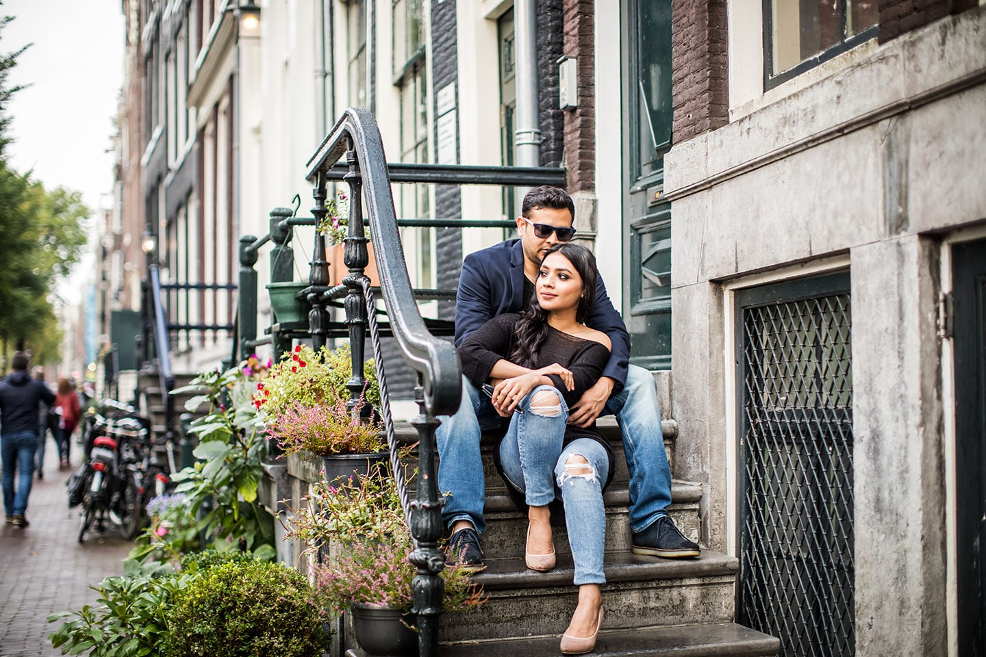 Amsterdam engagement shoot