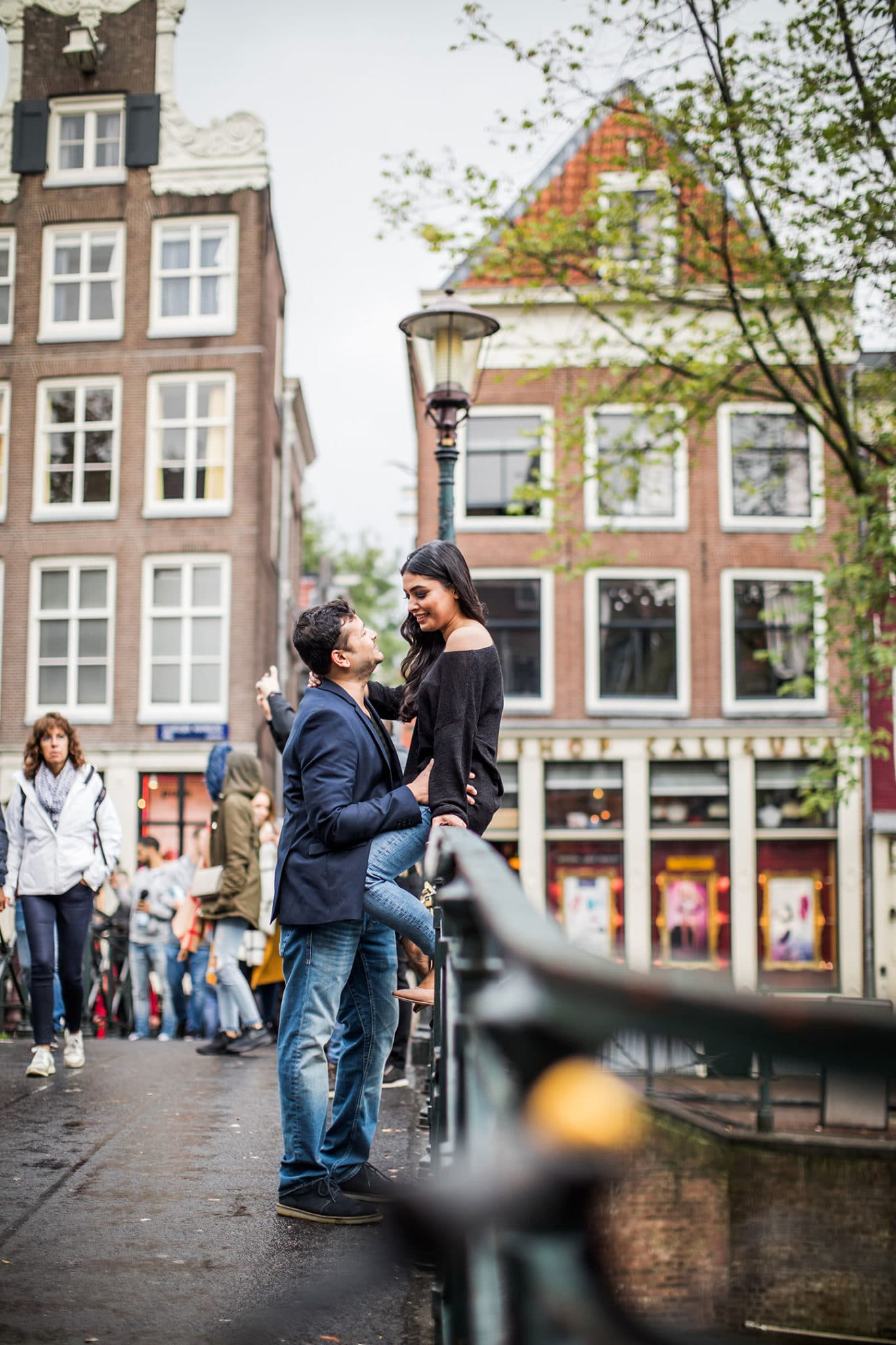 Prewedding photography in Amsterdam