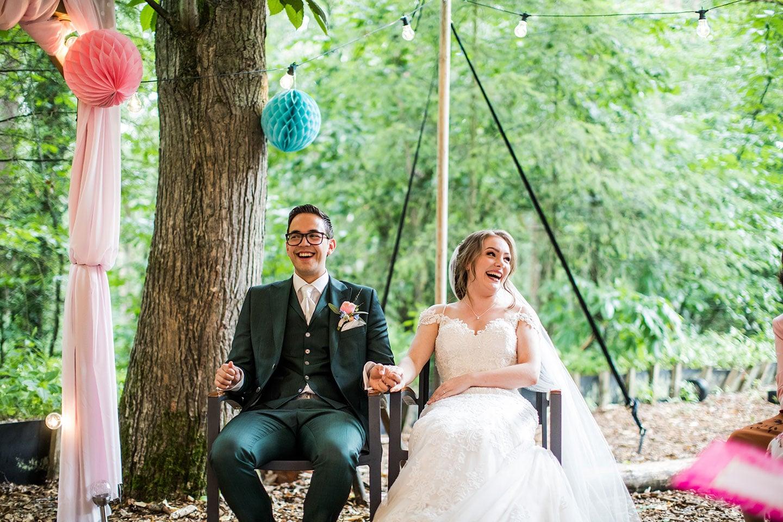 Buiten bruiloft Meneer van Eijck