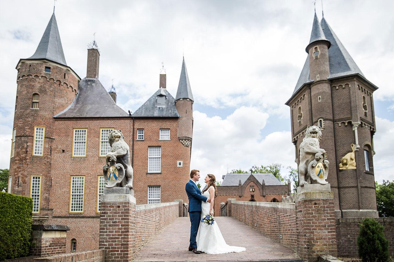 Bruidsfotograaf bij Kasteel Heeswijk