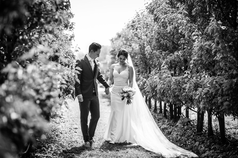 Bruidsreportage bij Kasteel Wijenburg