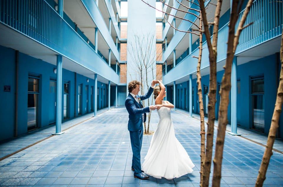 Bruidsfotografie Strijp-S Eindhoven