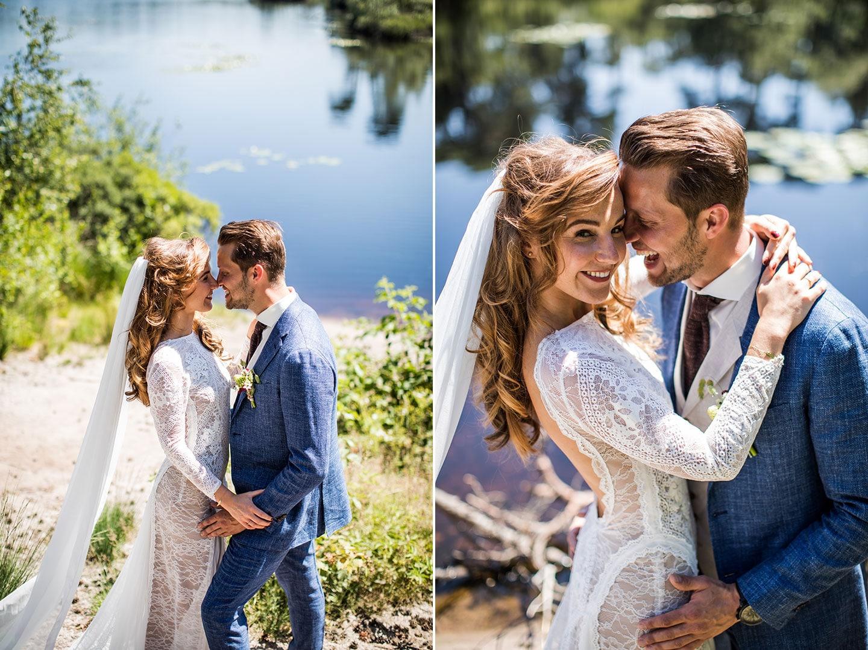Moderne bruidsfotografie Brabant