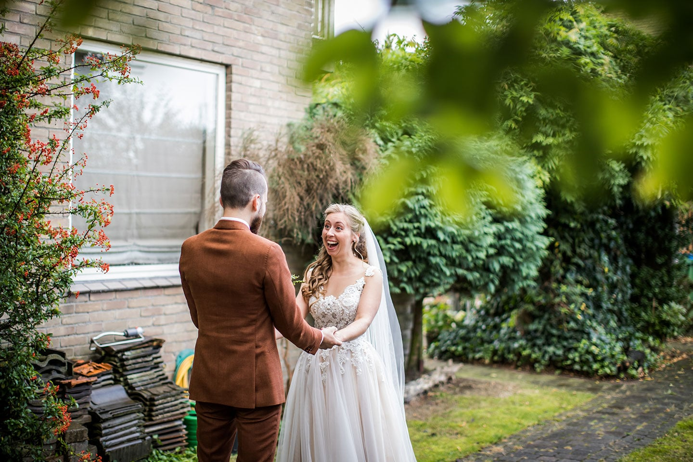 Moderne bruidsfotografie