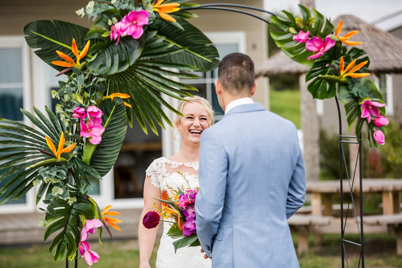 Huwelijksreportage Kaap Flevo