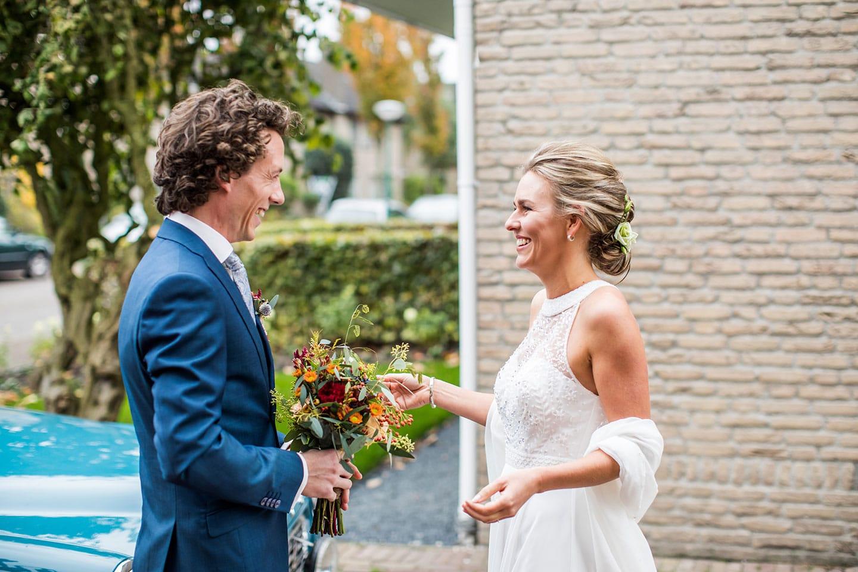 Bruidspaar huwelijk Eindhoven