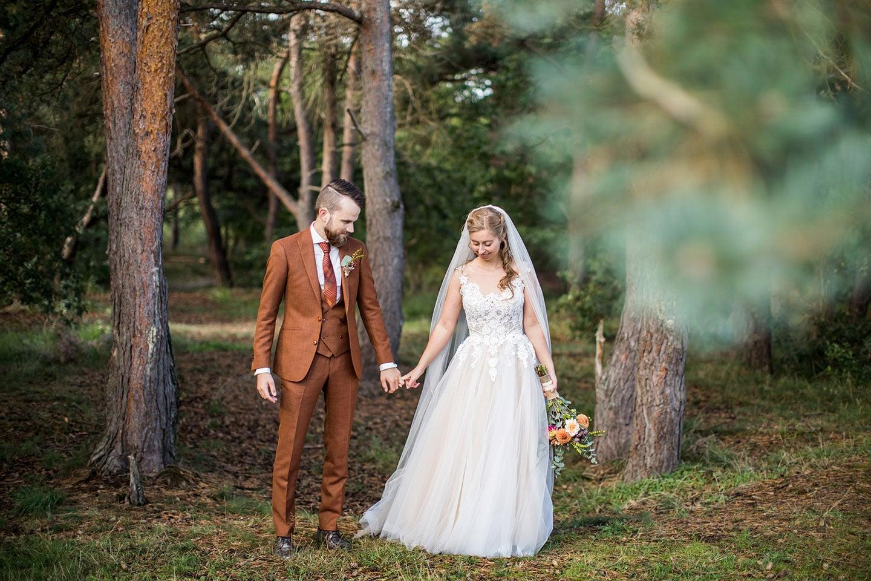 Bruiloft in de bossen
