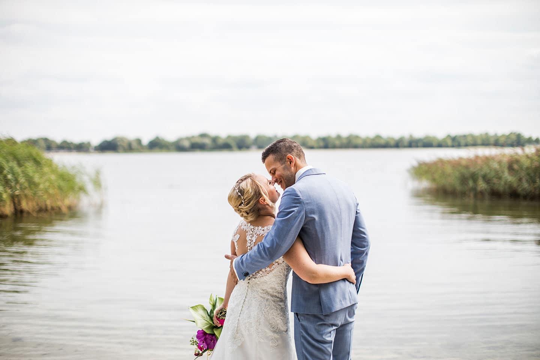 Heirats fotografie Niederlande Strand