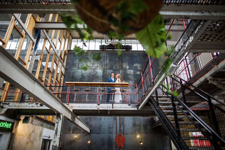 Fotoreportage bruiloft Strijp-S