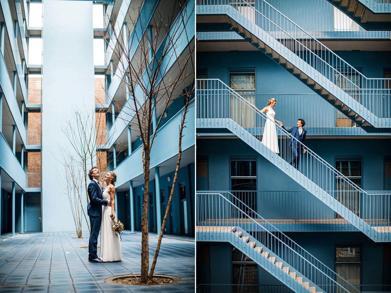Bruidsfotografie Eindhoven Strijp-S
