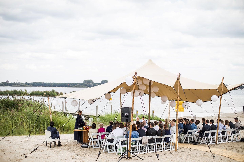 Safari tent bruiloft