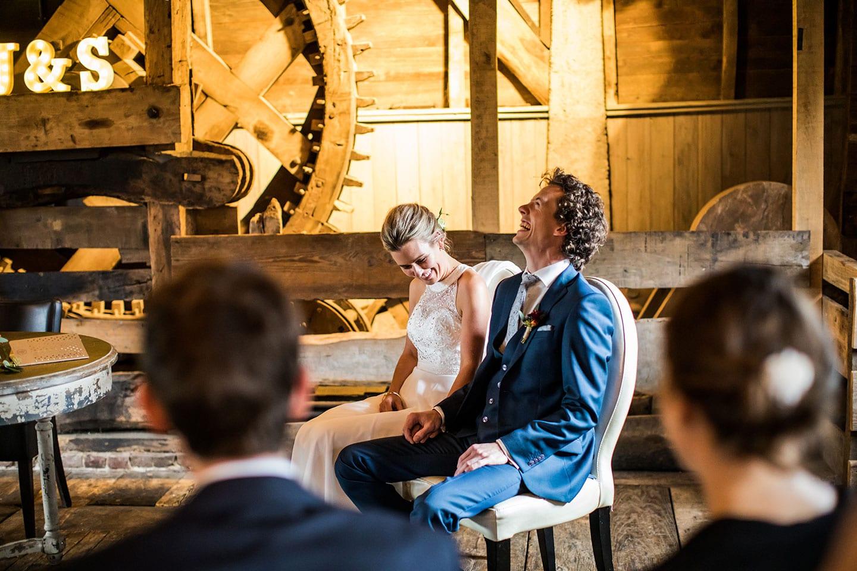 Bruidsfotografie Watermolen van Opwetten
