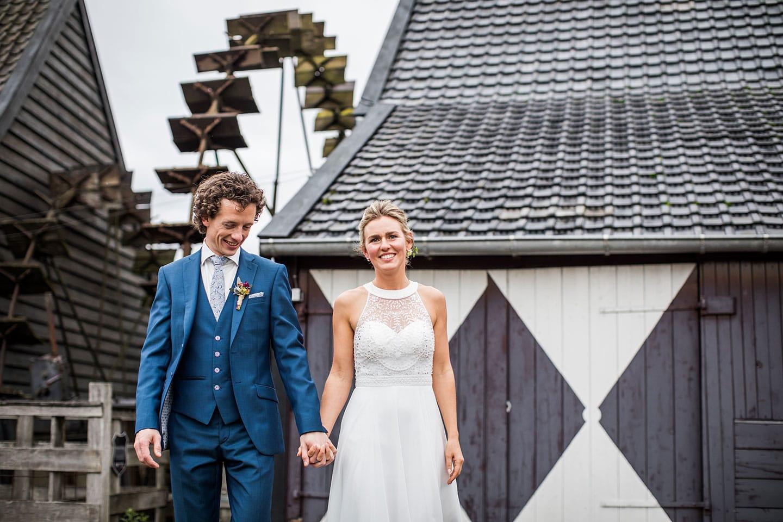 Fotoshoot bruiloft Watermolen van Opwetten