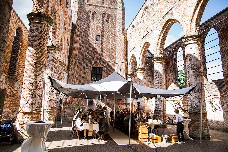 Bruidsfotograaf Oude Kerk Dongen diner