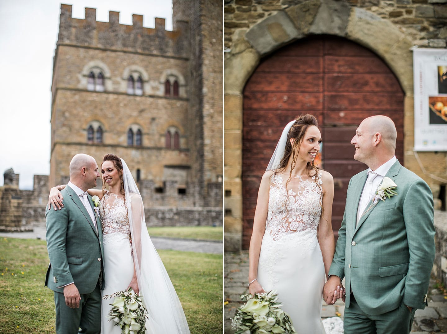 Tuscany wedding photos