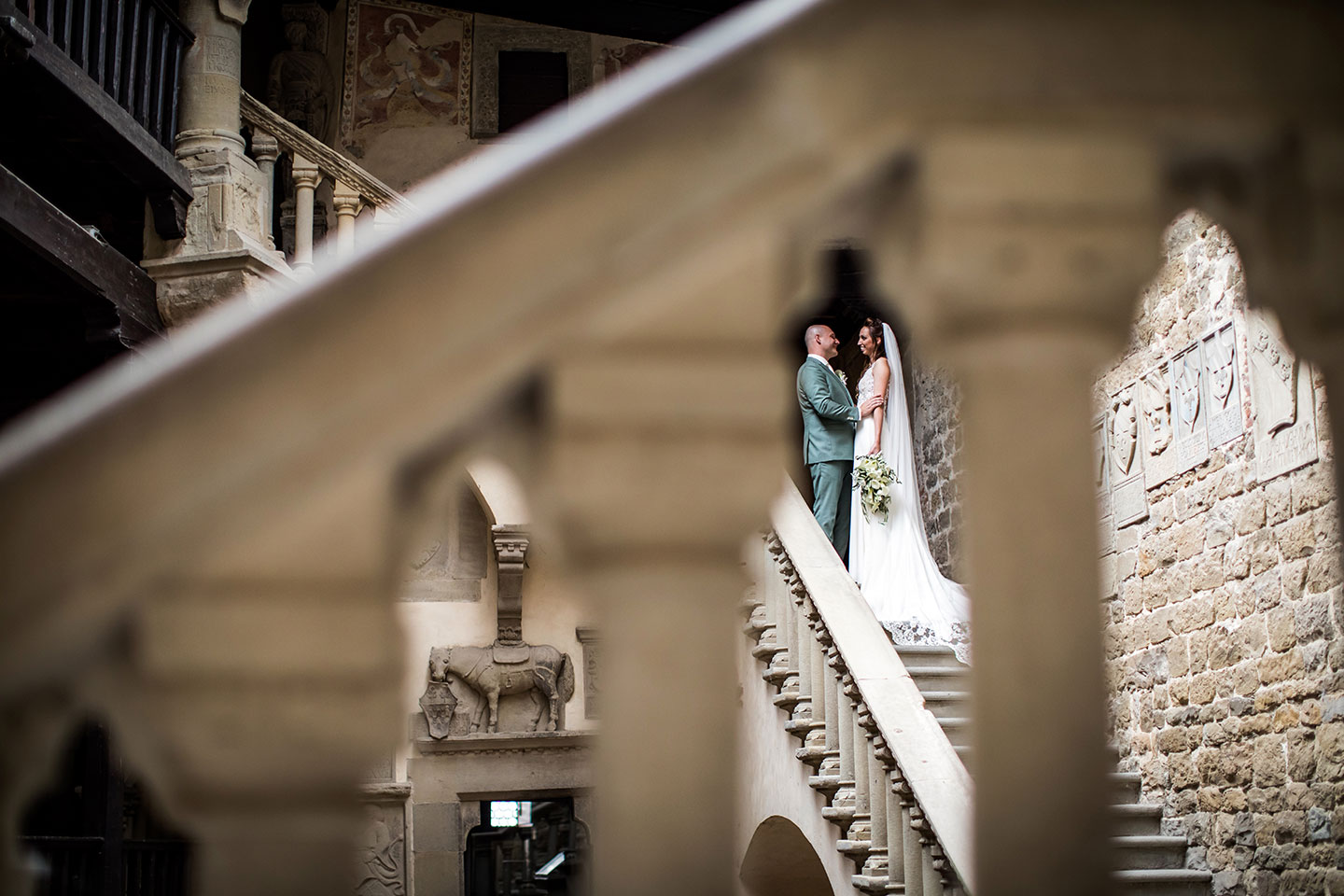 Wedding shoot at Poppi Castle