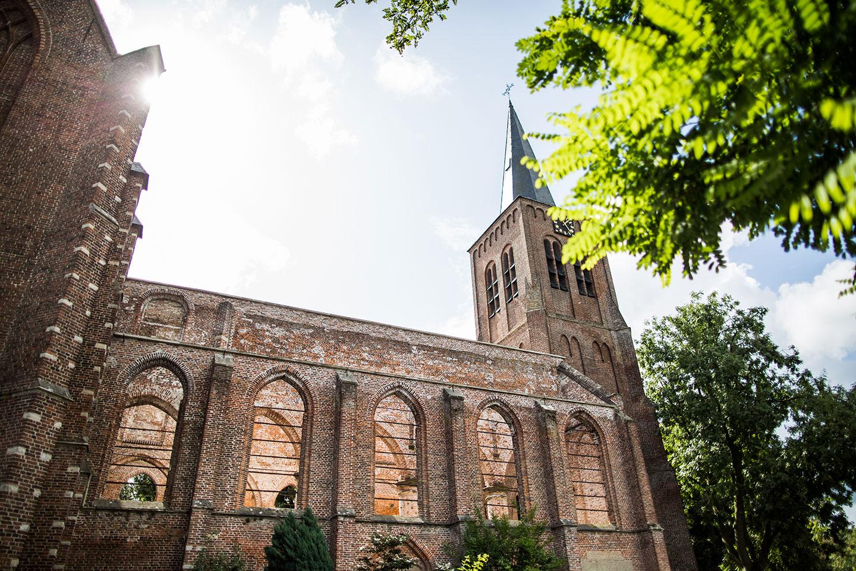 Bruidsfotografie Oude Kerk Dongen