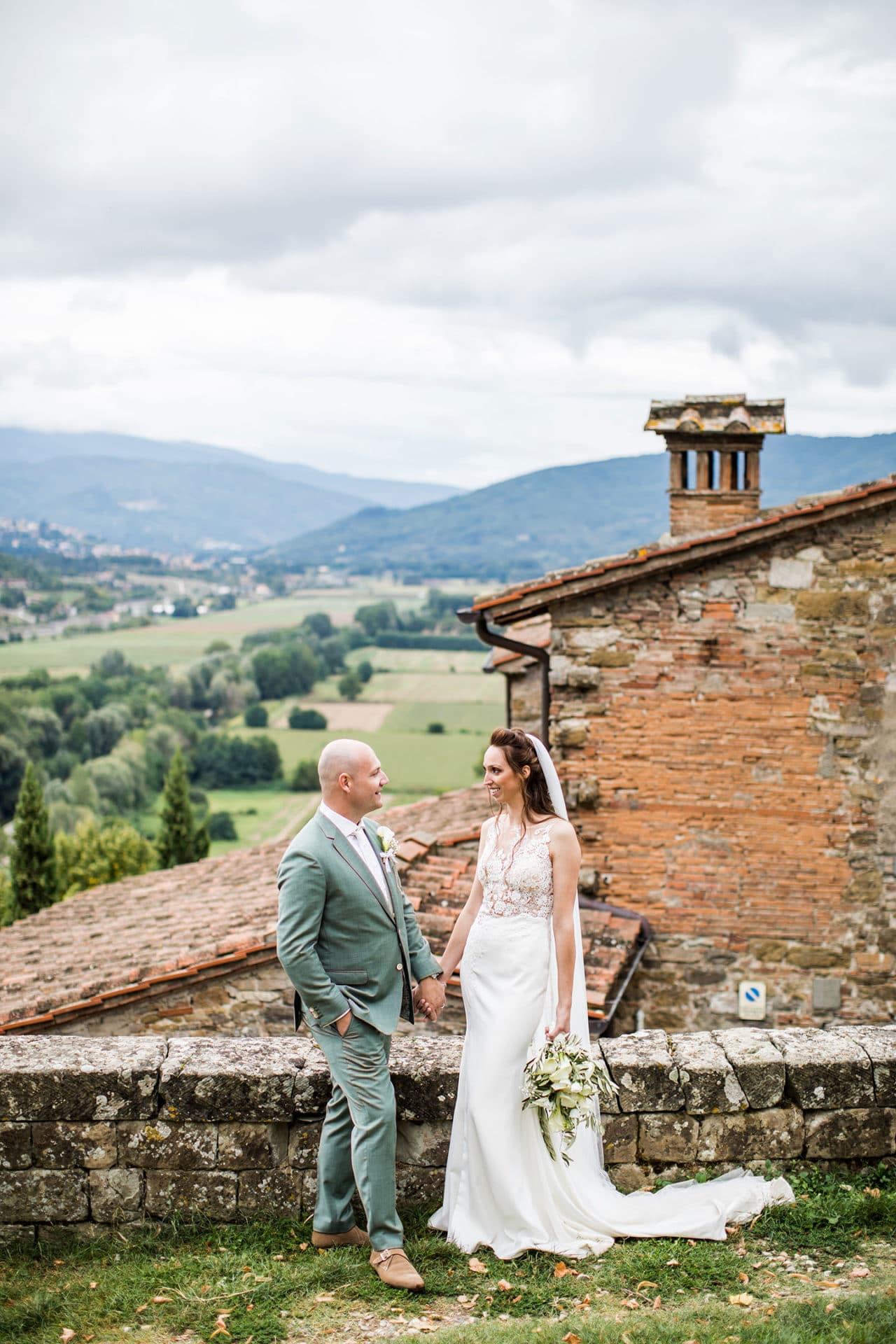 Bruidsfotograaf Toscane