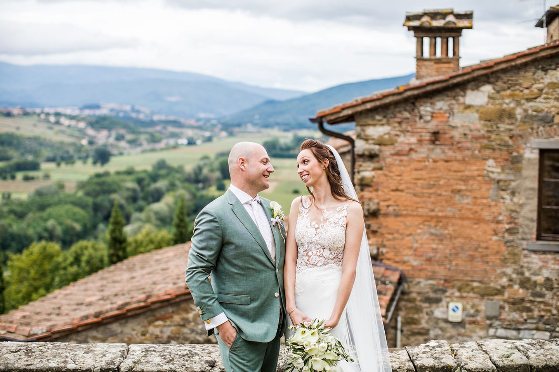 Trouwreportage Toscane