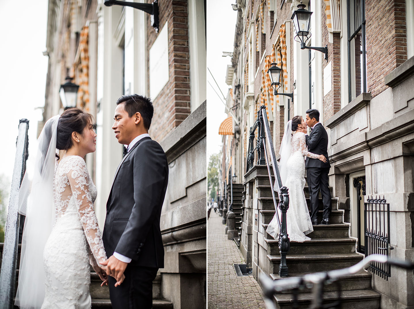 Engagement shoot in Amsterdam, the Netherlands