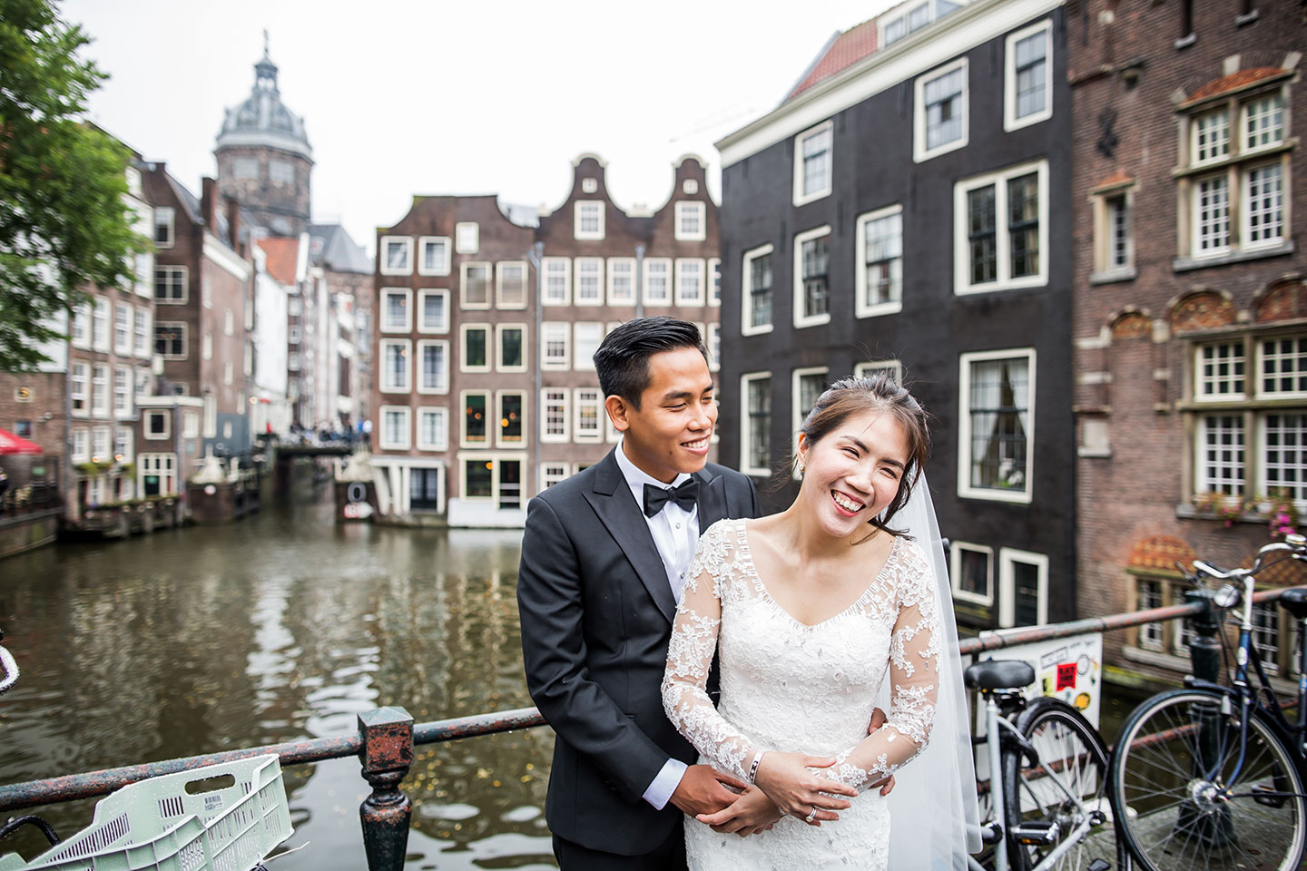 Prewedding photoshoot in Amsterdam