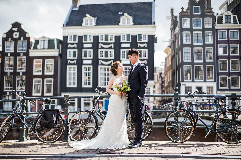Amsterdam & Zaanse Schans prewedding photos