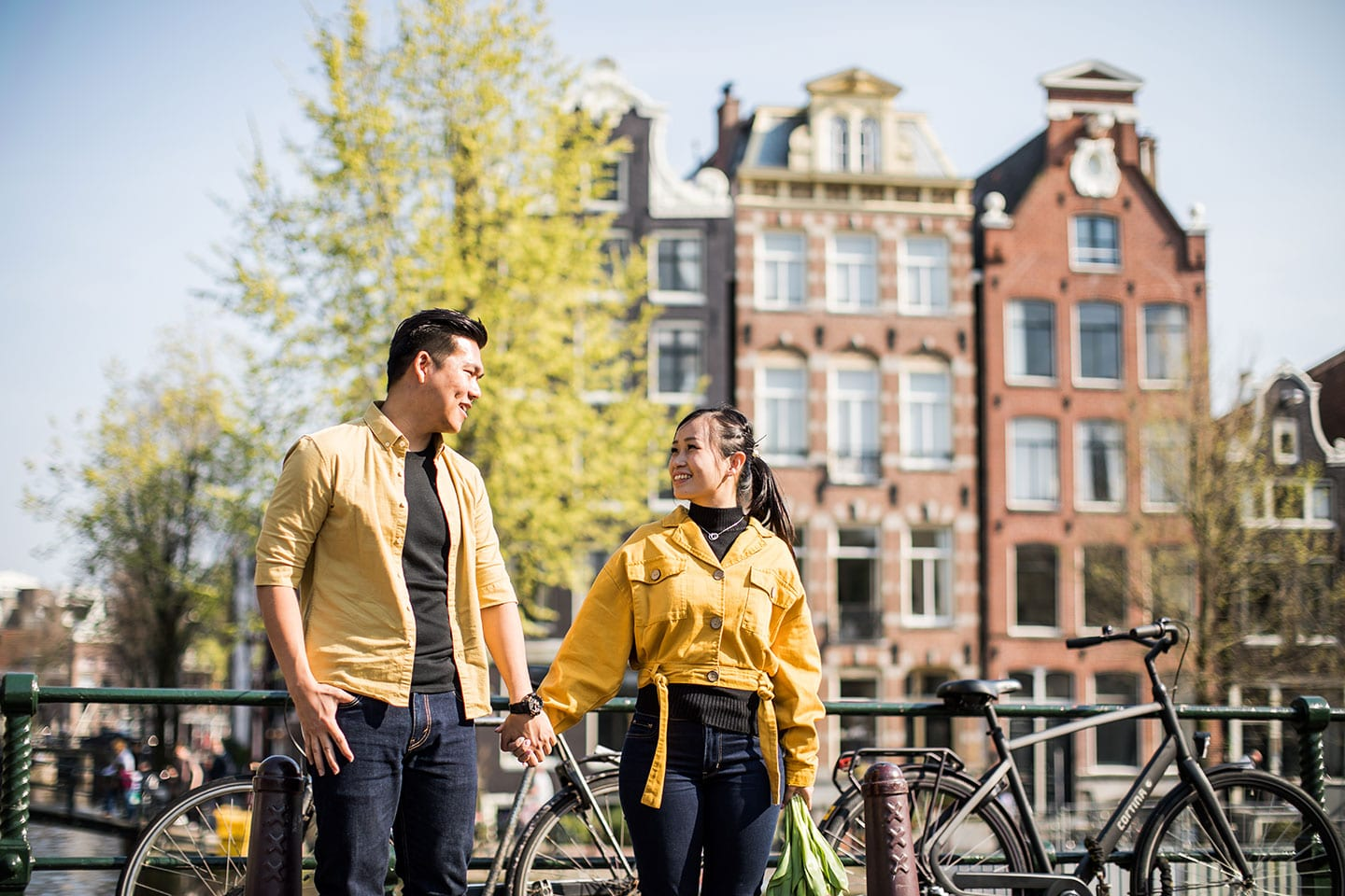 Amsterdam prewedding photography