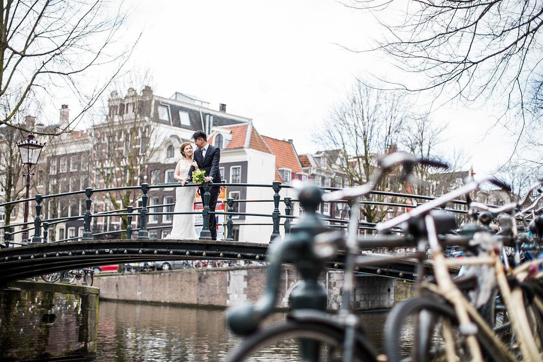 Amsterdam prewedding shoot