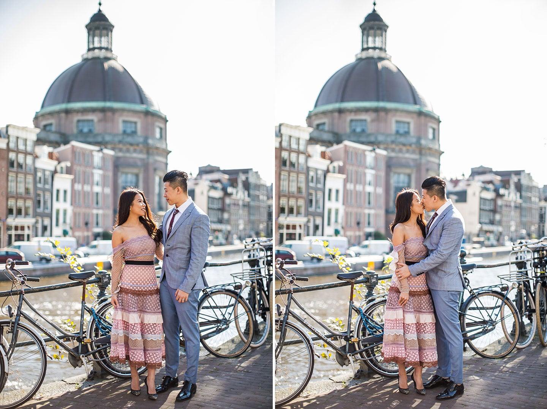 Couple photoshoot Amsterdam