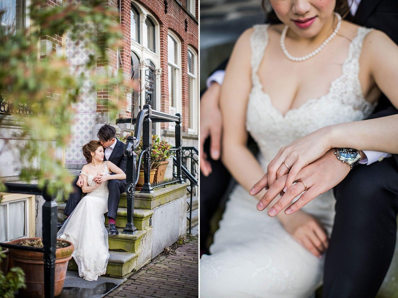 Holland prewedding photoshoot couple