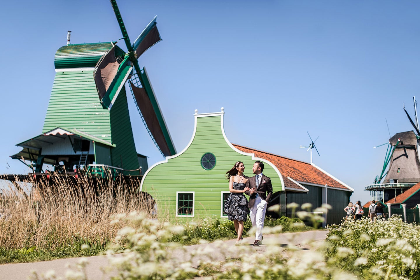 Keukenhof & Zaanse Schans Pre Wedding photoshoot