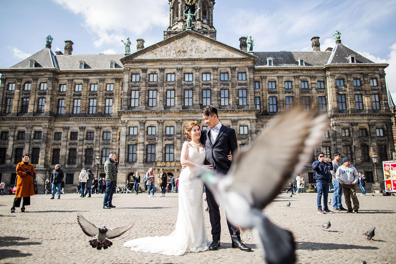 Amsterdam & Zaanse Schans prewedding shoot