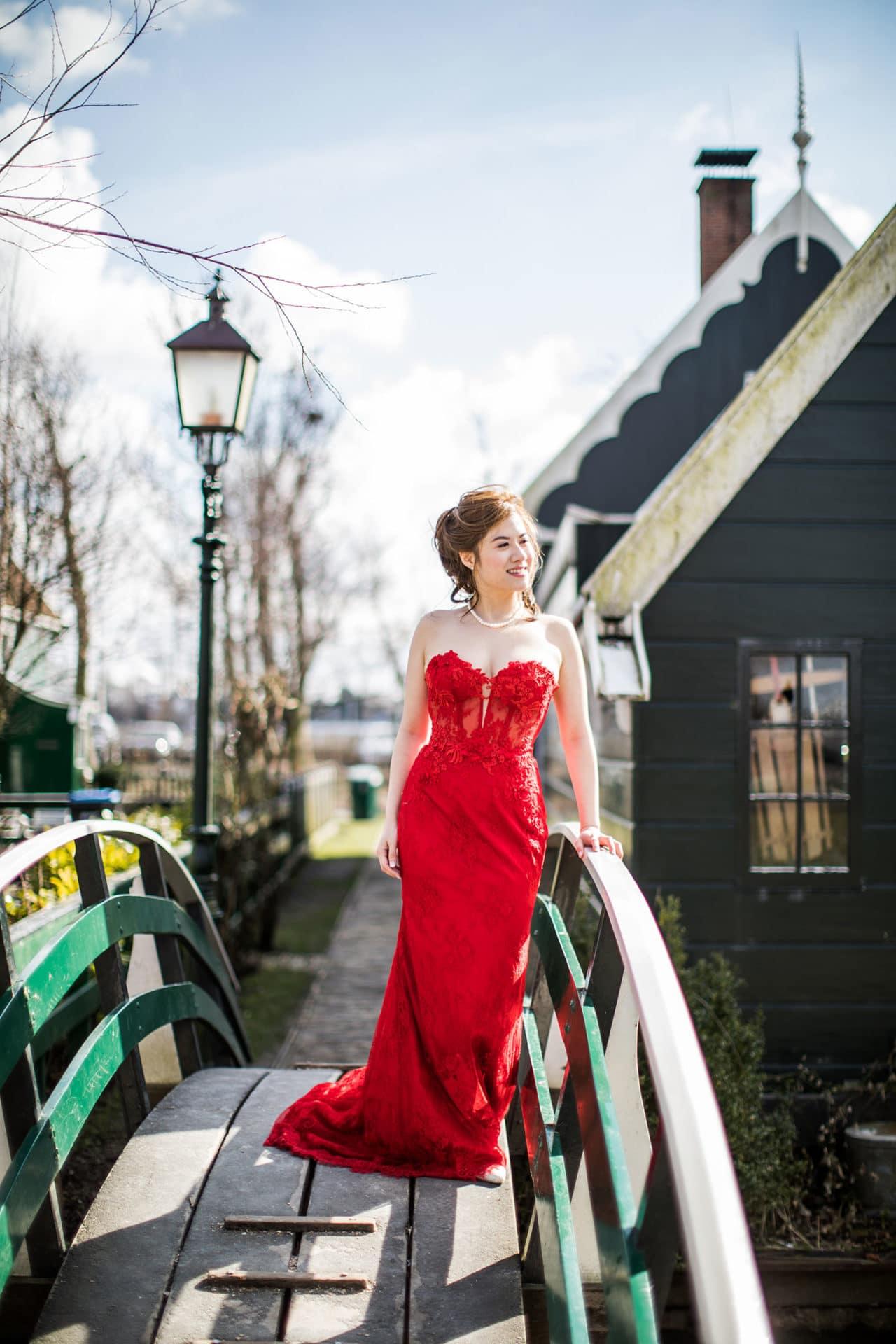 Amsterdam & Zaanse Schans prewedding photoshoot