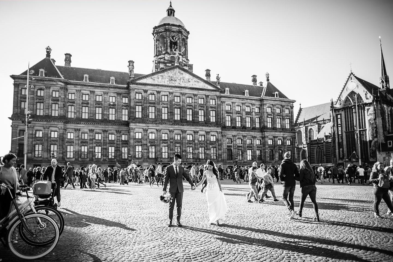 Prewedding photoshoot Amsterdam