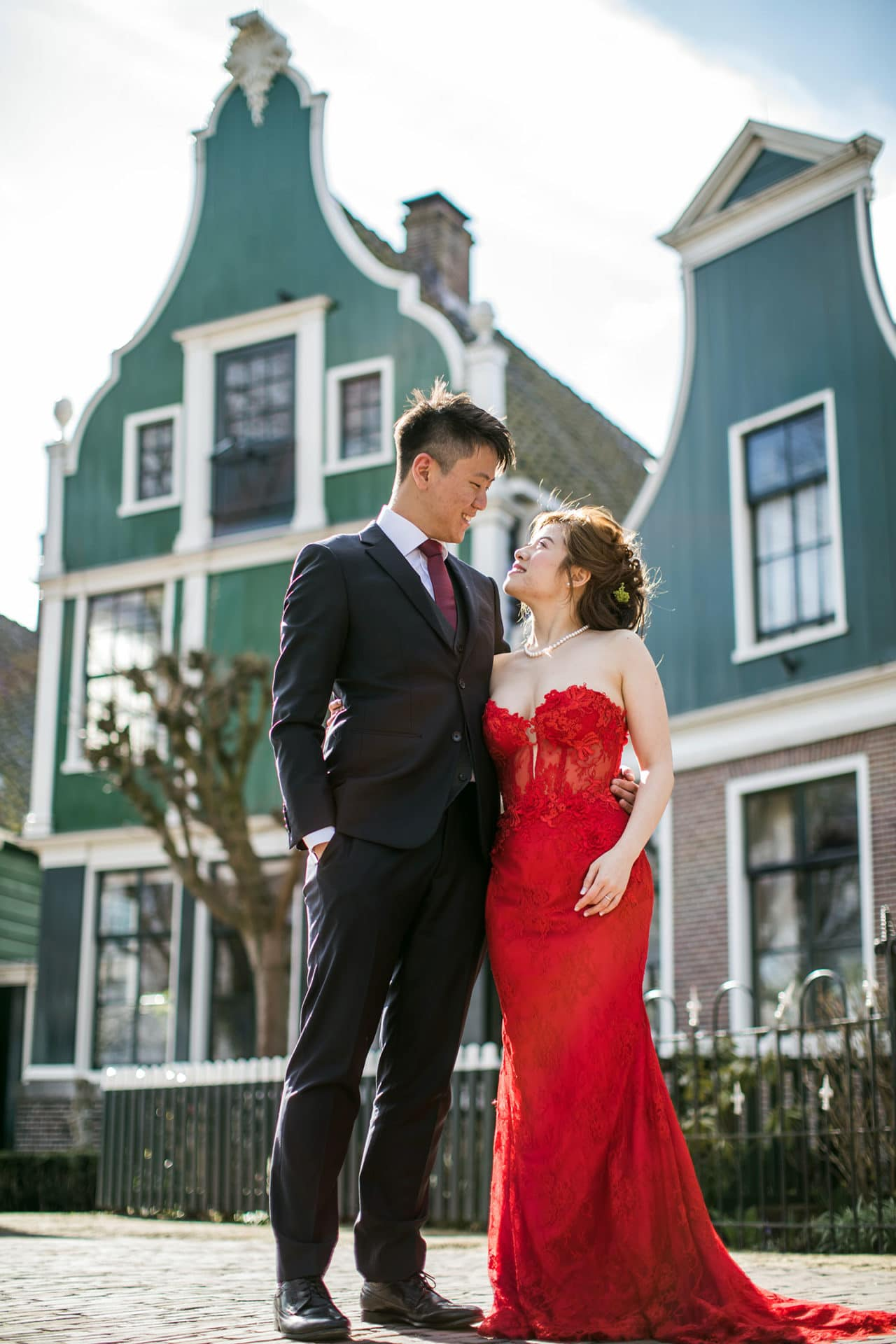 Amsterdam & Zaanse Schans prewedding photographer