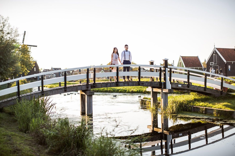 Photoshoot Amsterdam & Zaanse Schans Pre Wedding