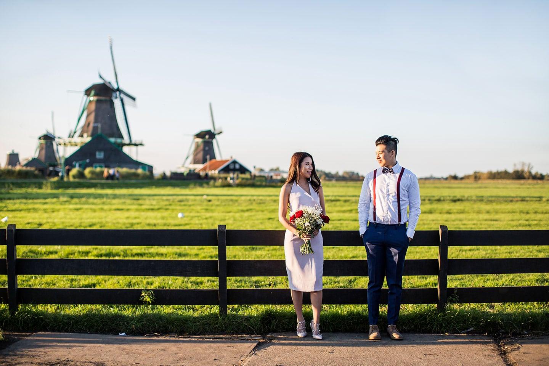 Photographer Amsterdam & Zaanse Schans Pre Wedding