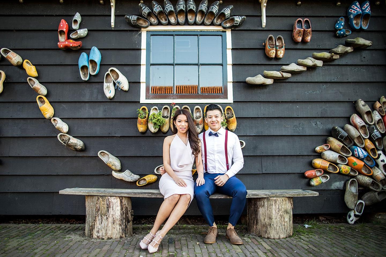 Amsterdam & Zaanse Schans Pre Wedding Photographer