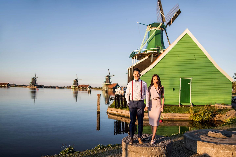 Amsterdam & Zaanse Schans Pre Wedding