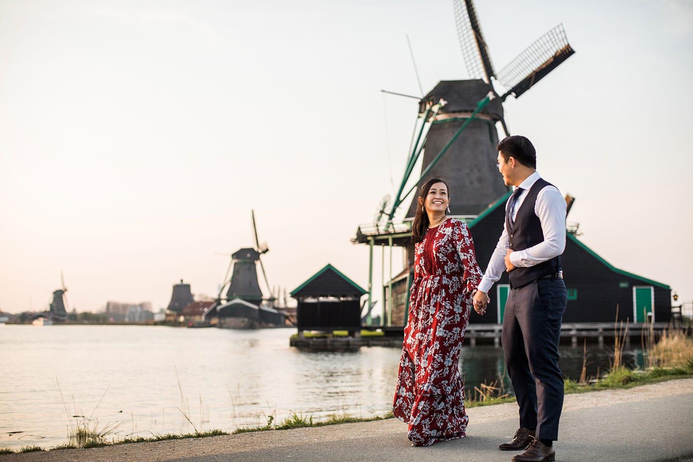 Zaanse Schans & Amsterdam prewedding