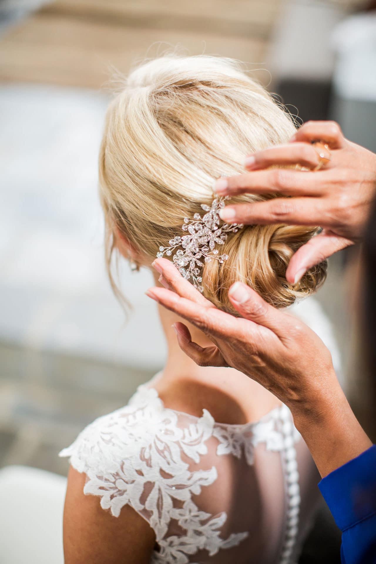 Bruidskapsel haarspeld