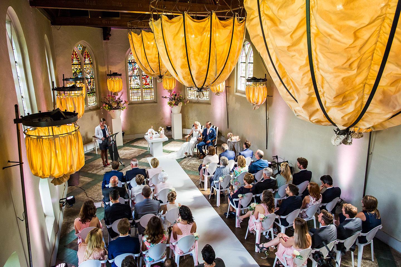 Ceremonie bruiloft Klooster Bethlehem
