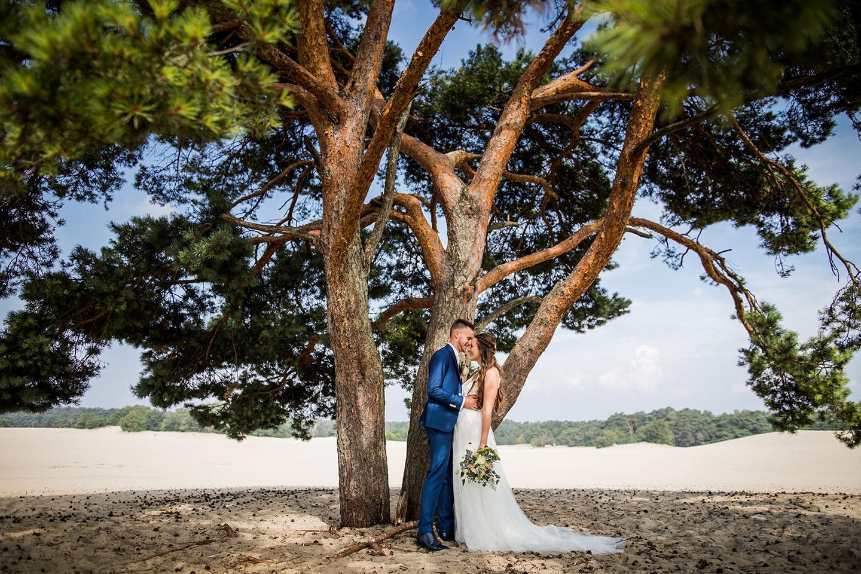 Bruidsfotografie Soesterduinen