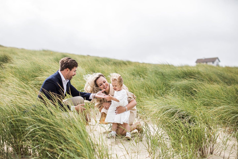 Familieshoot in Bergen aan Zee